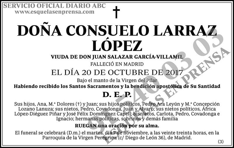 Consuelo Larraz López